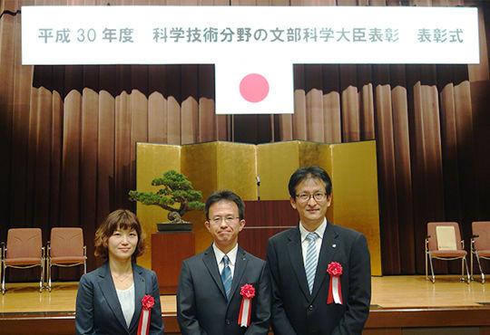 「平成30年度 科学技術分野の文部科学大臣表彰」でアサヒの研究員3名が受賞!