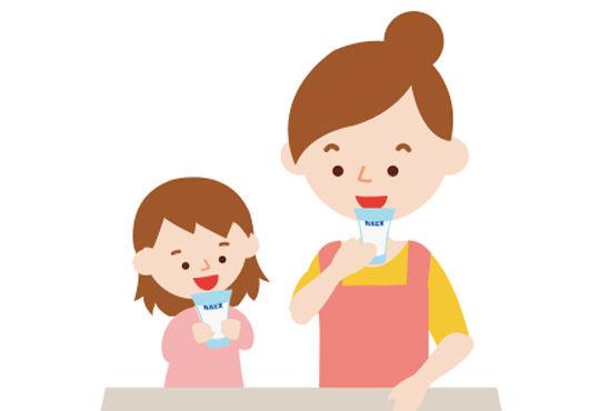 子どもの心の発達につながる乳酸菌飲料<希釈タイプ>の使い方