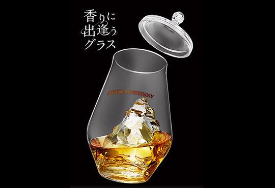 ウイスキーの香りを最大限に愉しむグラスをCAEで開発