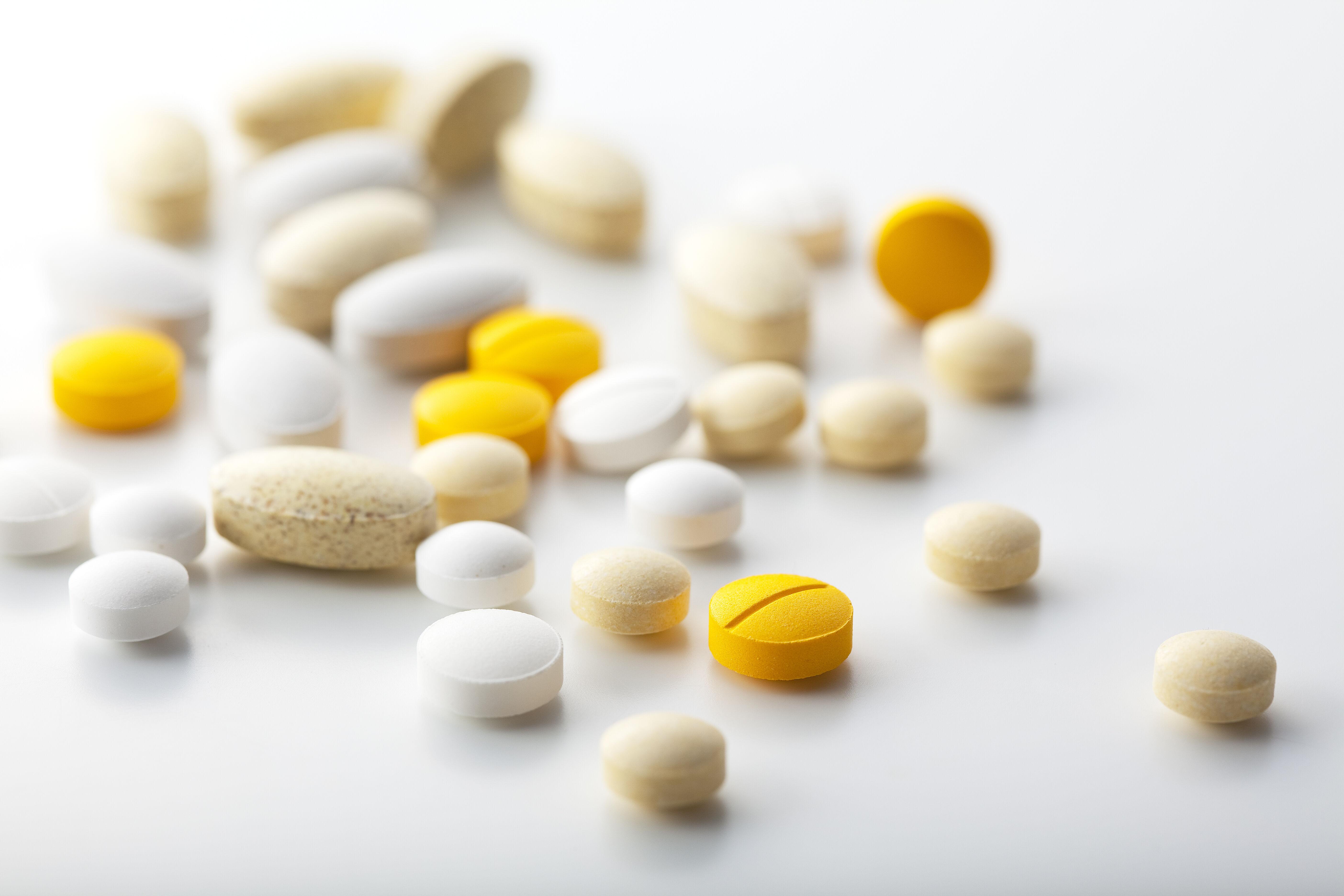 錠剤タイプのサプリメント