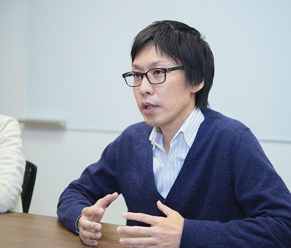 AQI事業化戦略部インタビュー写真(大塚)