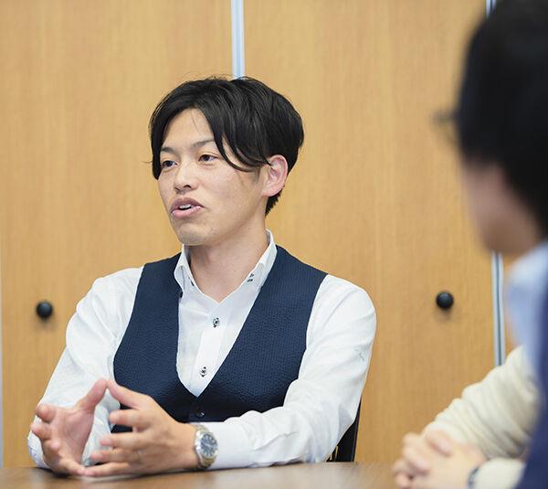 AQI事業化戦略部インタビュー写真(藤田)