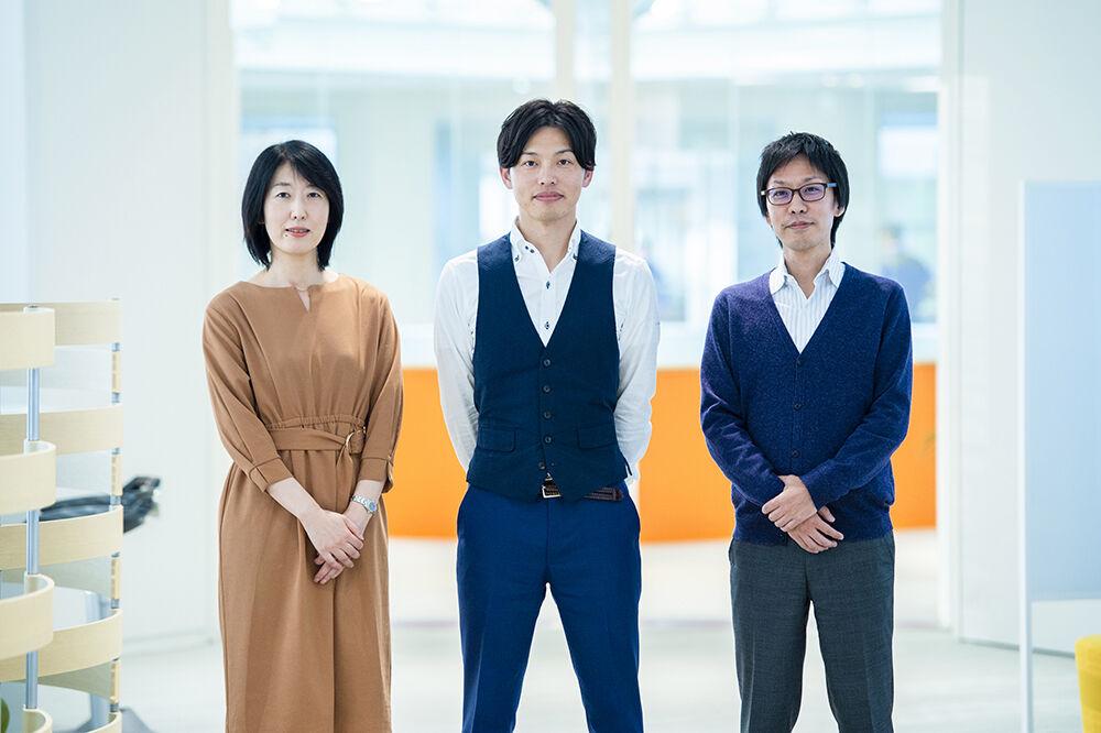 AQI事業化戦略部インタビュー写真(集合写真)