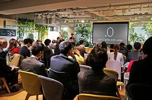 アルコールによるオフィスでの生産性向上の可能性探る <br>コワーキングスペース『point 0 marunouchi』での実証試験を報告するトークイベントを開催