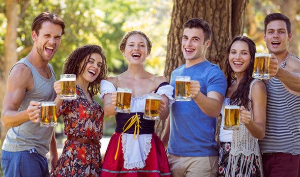ビールは世界中の人々に愛されている