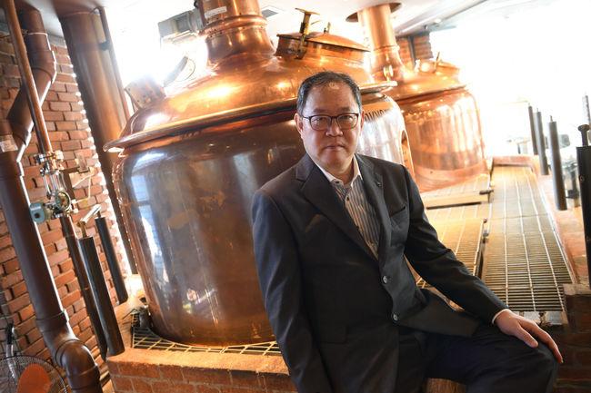 伊藤義訓取締役 高品質なビールの生産技術の確立に力を注いできた